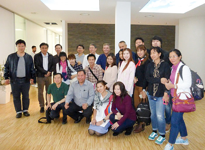 At the end of September 2016, 30 Thai dentists completed the PDAT/DGOI's Curriculum Implantology in Germany under the guidance of Dr Fred Bergmann, President of the DGOI.