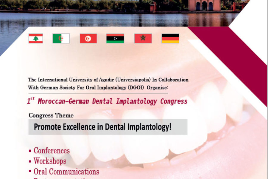 1st Moroccan-German Dental Implantology Congress