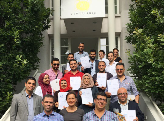 The opening module of the first Curriculum Implantology in cooperation with the Q-Dent Academy, Palestine, took place at the HL Dentclinic of Dr Henriette Lerner, Germany.