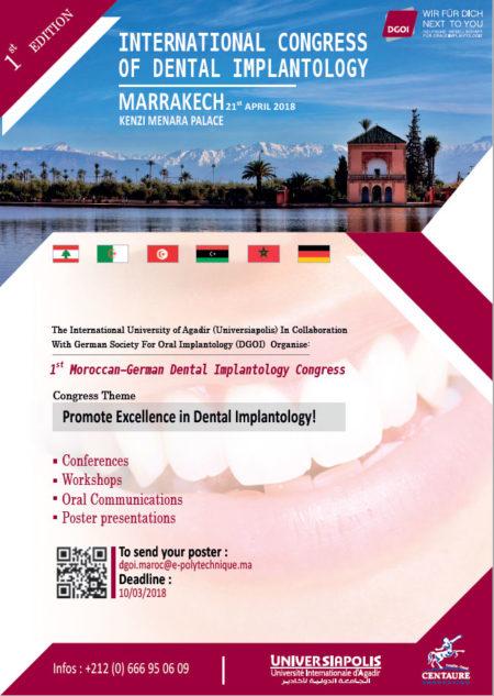 1st Moroccan-German Dental Implantology Congress